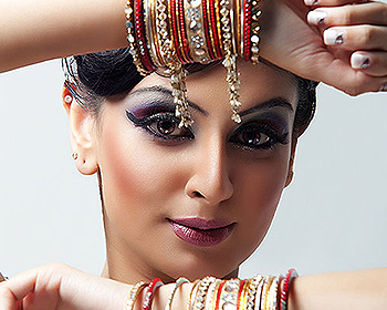 Asian bridal makeup nottingham