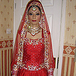Makeup for Asian bridal with acne Wolverhampton