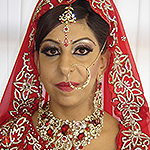 Traditional Indian bridal Coventry